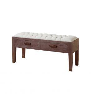 banco-de-madera-tapizado-y-con-2-cajones-53x110x38-cm