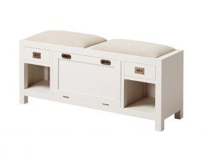 banco-de-madera-zapatero-con-2-cajones-2-huecos-y-puerta-abatibe-asientos-tapizados-50x125x35-cm