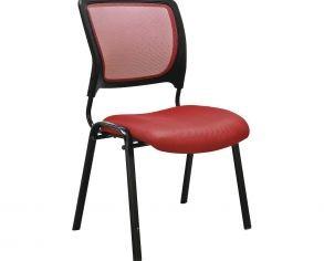 silla-roja-con-asiento-transpirable